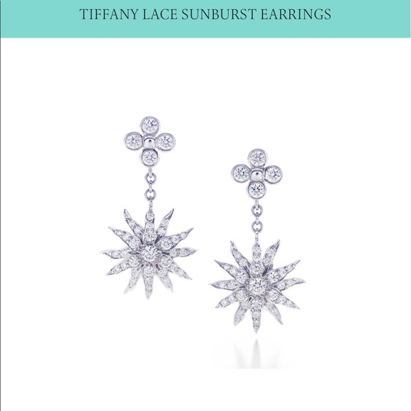 18682c9ba Tiffany & Co. Jewelry - HPPRICELESS Tiffany&Co platinum/diamond earrings