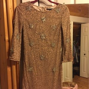French Connection Dresses - French connection sequined dress