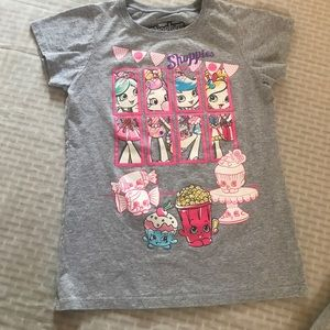 Shopkins, Disney, SO Shirts & Tops - Girls bundle of 3 tops