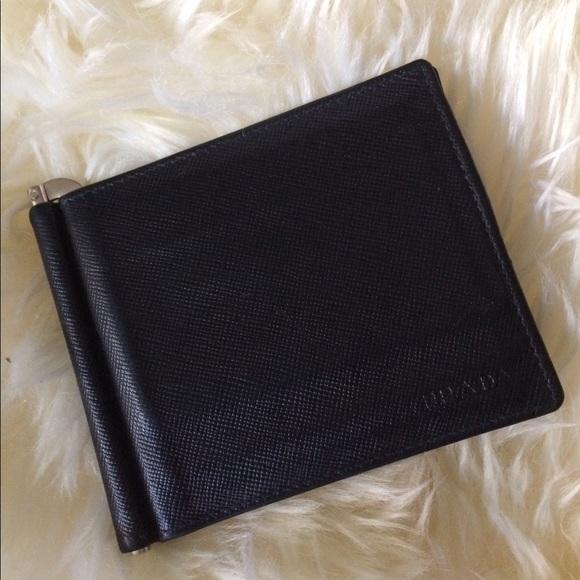 94279a3c8b72 Prada Saffiano Money Clip Wallet. M_5950559bfbf6f9c4c8025176