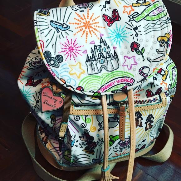 464833a5cd Dooney   Bourke Handbags - Disney Dooney and Bourke Sketch Backpack 🎒❤️