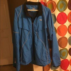 Brooks Other - Men's Blue Brooks Running Jacket XL
