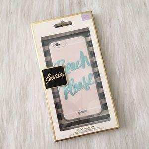 """NWT  Sonix  """"Beach Please"""" iPhone 6/6S Case"""
