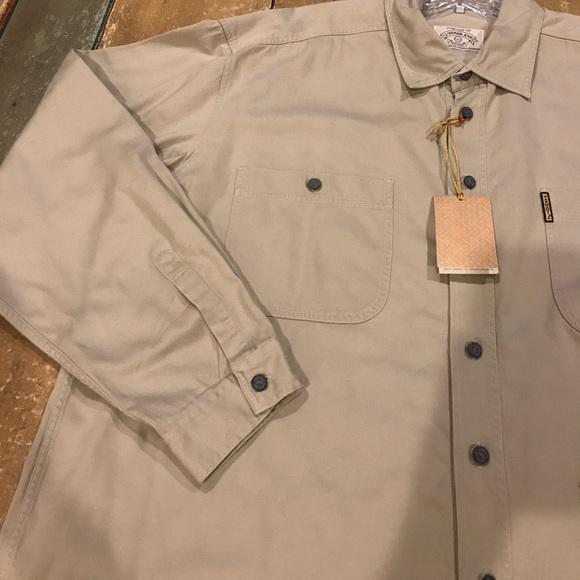 77 off armani jeans other armani jeans khaki long for Khaki button up shirt