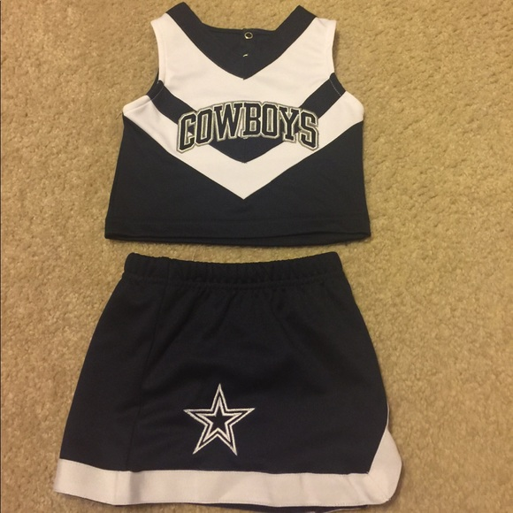 huge selection of 3742c 7a37c NFL Toddler Dallas Cowboy cheerleader Outfit NWT
