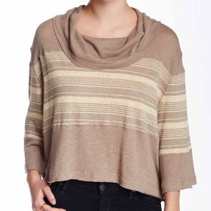 SALE ❤️ Free People Oversized Slouchy Striped Top