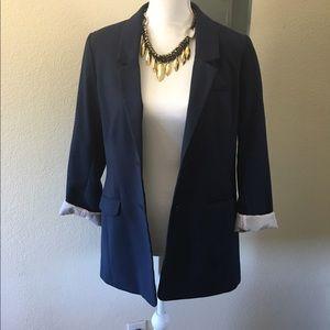 H&M navy blazer size 10
