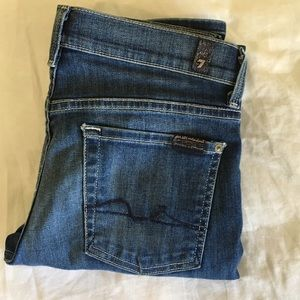 7 For All Mankind Denim - 7 For All Mankind Lexie Straight Leg Jeans