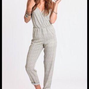 Sage Pants - Summer Patterned Jumpsuit