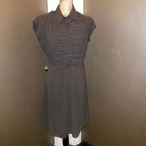 A-line Polka Dot Dress
