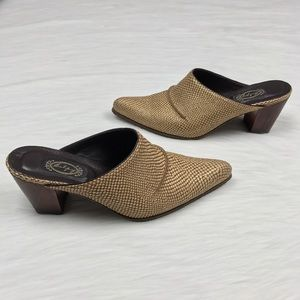 Salpy Shoes - {Salpy} Handmade Exotic Western Style Clog Shoes