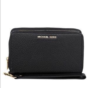 KORS Michael Kors Handbags - Michael kors Adelle wallet (black)
