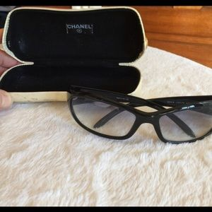 CHANEL Accessories - Authentic Chanel sunglasses with case 6004-B