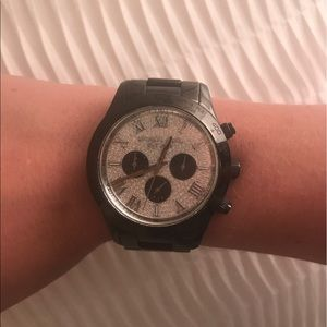 Michael Kors Watch with Crystal Face Detail