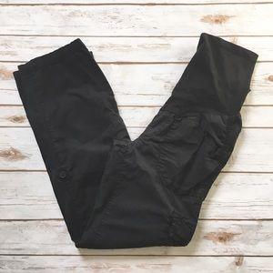Motherhood Maternity Black Cargo Pants