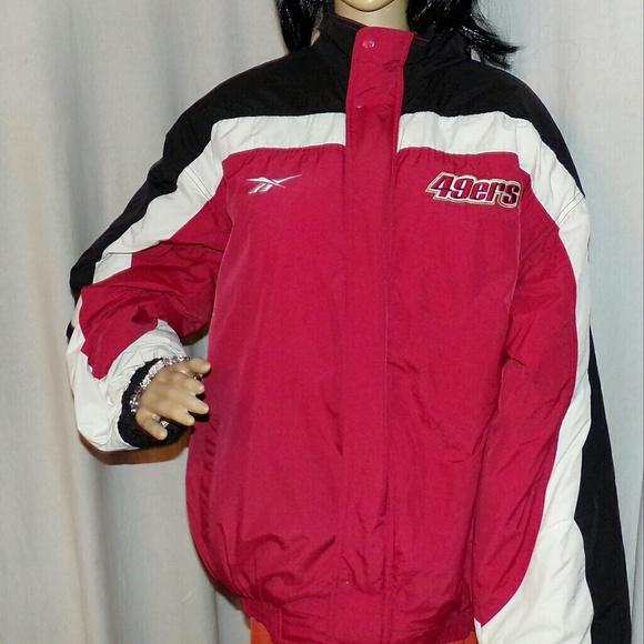the best attitude d82ae a401c San Francisco 49ers Reebok Winter Coat