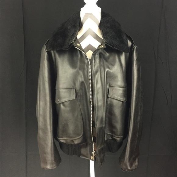 e2f9912af Vintage Sears Leather Shop bomber jacket.
