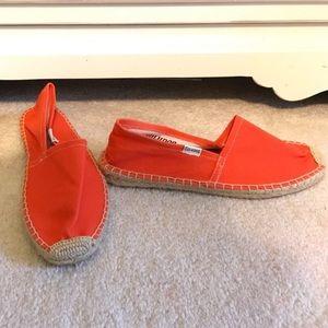 Soludos Shoes - Soludos Red Orange Espadrilles