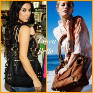 Linea Pelle Handbags - 🆕🌼 Linea Pelle Dylan Leather Tote