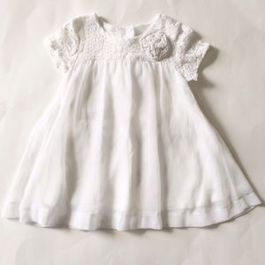 Children's Place Other - Children's Place [baby girl] White formal Dress