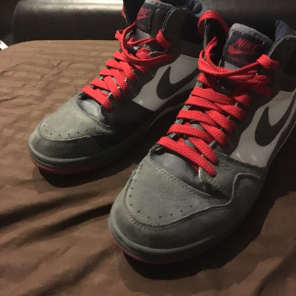 Nike Shoes | Nike Swoosh High Top