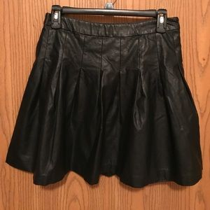 Forever 21 faux leather skirt
