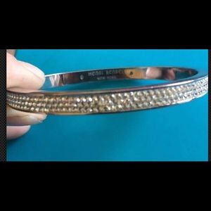 Henri Bendel Rox Skinny Bangle clear bracelet