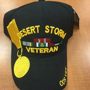 Other - Desert Storm black military Cap
