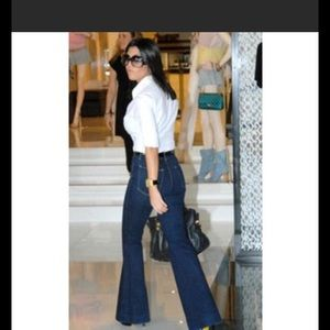 Anthropologie J Brand super flare jeans