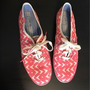 Keds Coral Cream Tribal Size 9.5