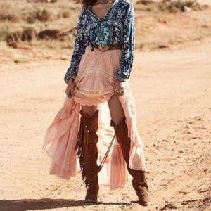Spell Prairie Lace Skirt