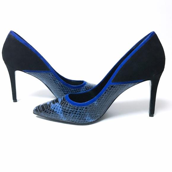 Aldo Shoes | Royal Blue And Black Mixed