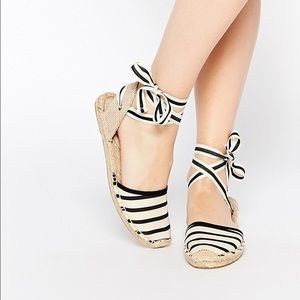 Soludos Shoes - Soludos Tie Espadrille Flats