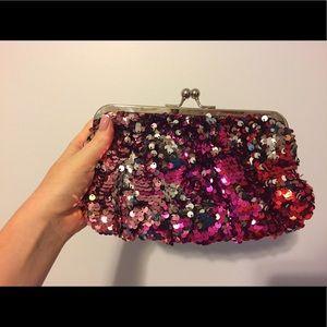 Melie Bianco Handbags - Mermaid sequin clutch 💖👛✨