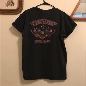 Black Harley Davidson Tee