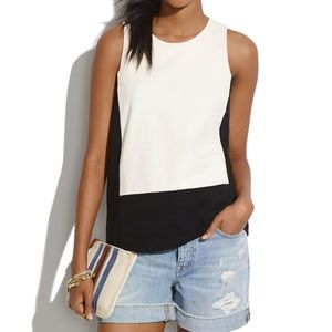 Madewell Tops - Madewell Colorblock Ponte Tank