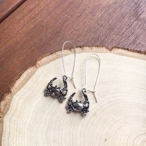 wildarrow Jewelry - Wild Crabby Cancer Dangle Earrings