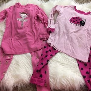 Other - two adorable girls pajamas size 4T