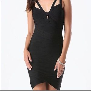 bebe Dresses & Skirts - Bebe black bandage dress 👗