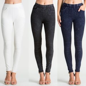 JACKIE Biker Pants - 3 colors