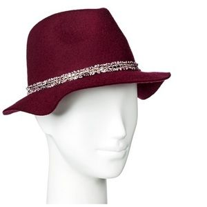 🎉🎉HP🎉Fedora with Boucle Ribbon Red~~LAST ONE