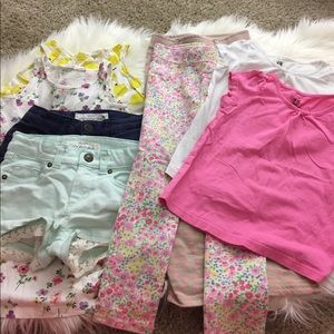 H&M Other - lot of 8 h&m girls items size 2-4T