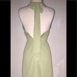 Bari Jay Dresses - Floor-length Halter Dress
