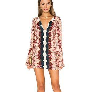 ☄SALE☄Free people mini dress printed tunic