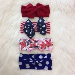 Other - 🇺🇸 Patriotic Princess Headbands!