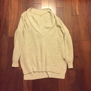 silence + noise Sweaters - Silence + noise oversized beige sweater size S