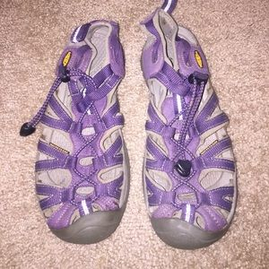 Keen Shoes - Keen, purple out door shoes.