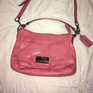 Beautiful Pink Coach Bag
