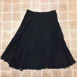 Size Medium Black Forever 21 Skirt