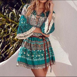 🌸2x Host Pick!!🌸 Boho Floral Print Summer Dress
